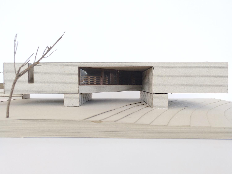 O espaço urbano e as dinâmicas de um rio: o caso da vila Caldas das Taipas . Maquete . Créditos Simão Pedro de Carvalho Lima