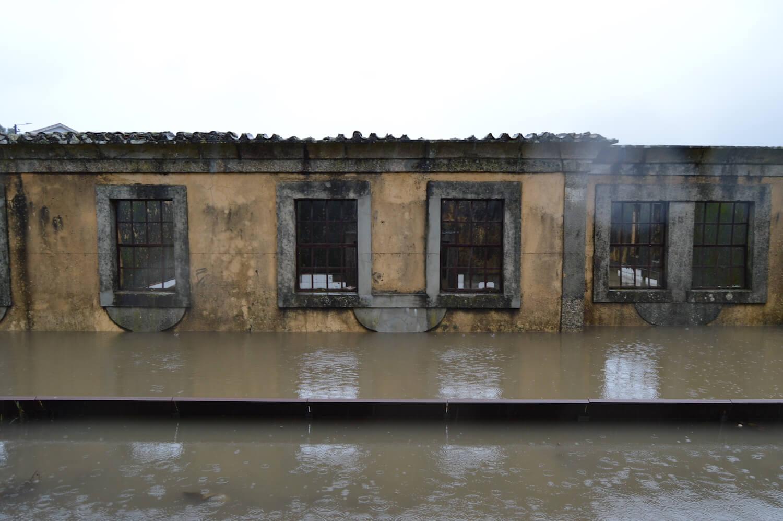 O espaço urbano e as dinâmicas de um rio: o caso da vila Caldas das Taipas . Fotos do local . Créditos Simão Lima 2019