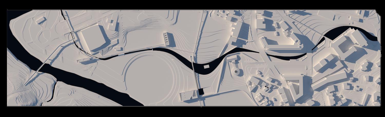 O espaço urbano e as dinâmicas de um rio: o caso da vila Caldas das Taipas_Render_proposta_Simão Lima1