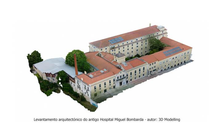 Projeto para antigo hospital Miguel Bombarda prevê habitação, escola e equipamentos culturais