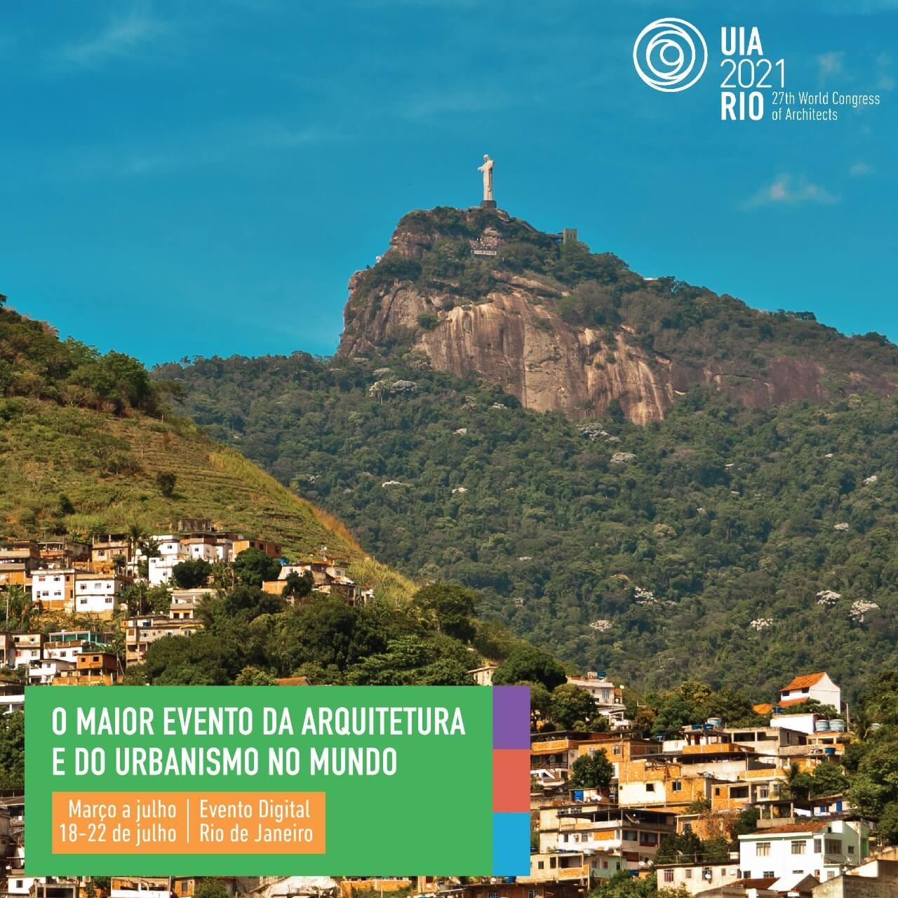 UIA2021RIO: Congresso Mundial dos Arquitetos