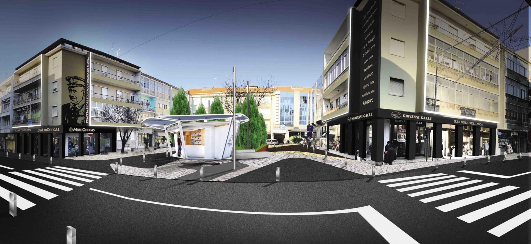 Projeto de Requalificação Urbana da Praça Eduardo Ferreira do Amaral