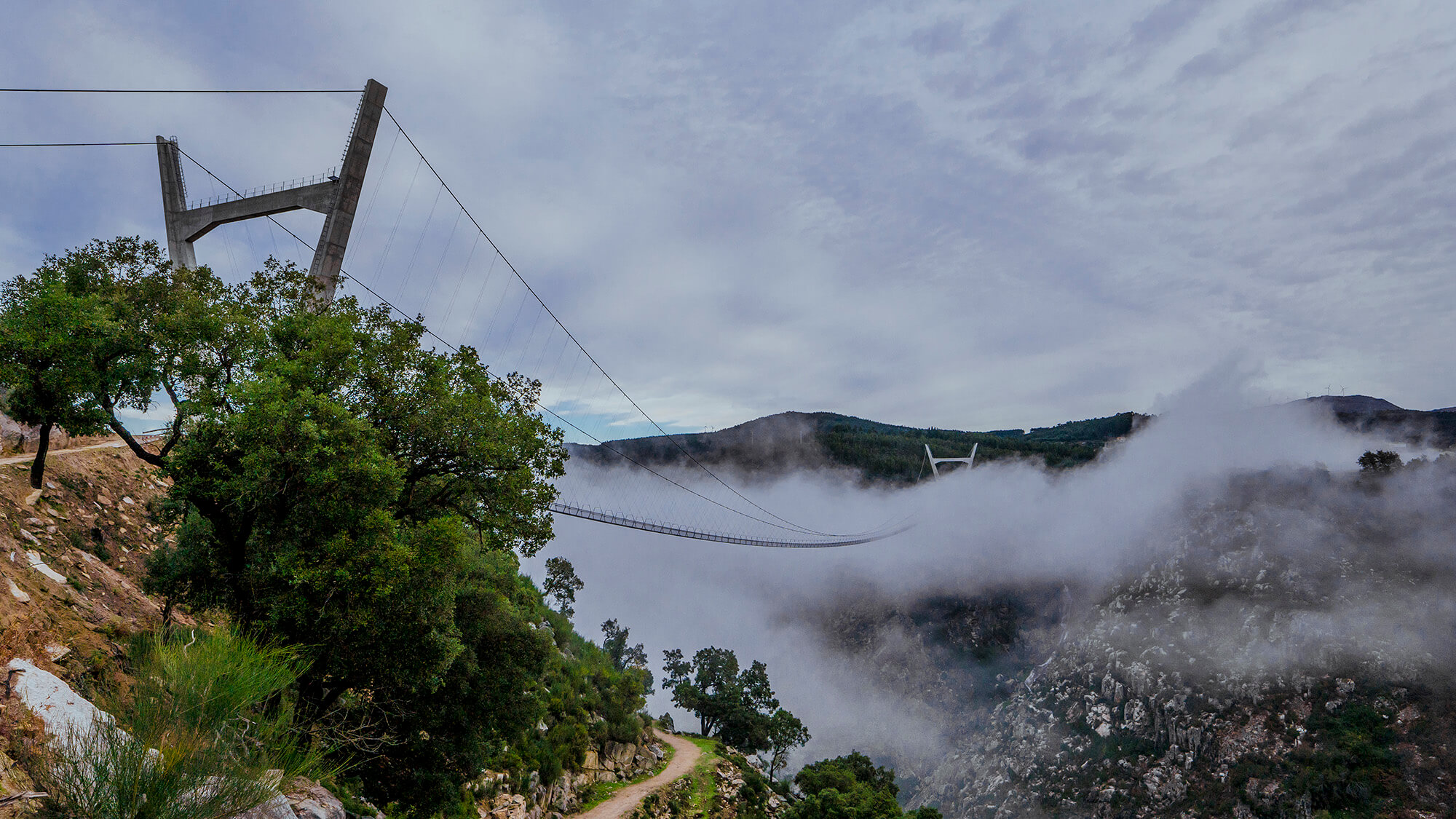 516 Arouca a maior ponte suspensa pedonal do mundo será inaugurada a 2 de maio