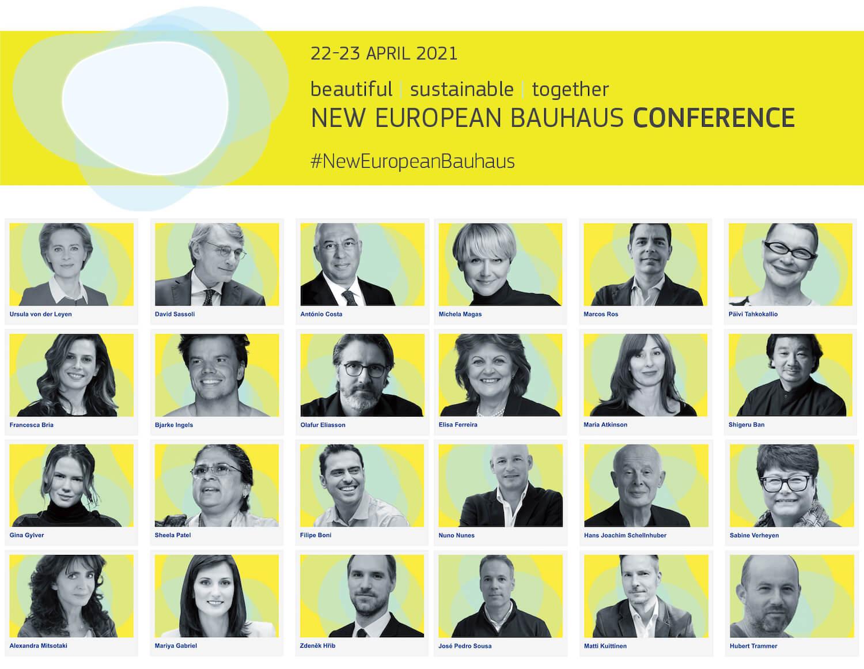 Conferência New European Bauhaus