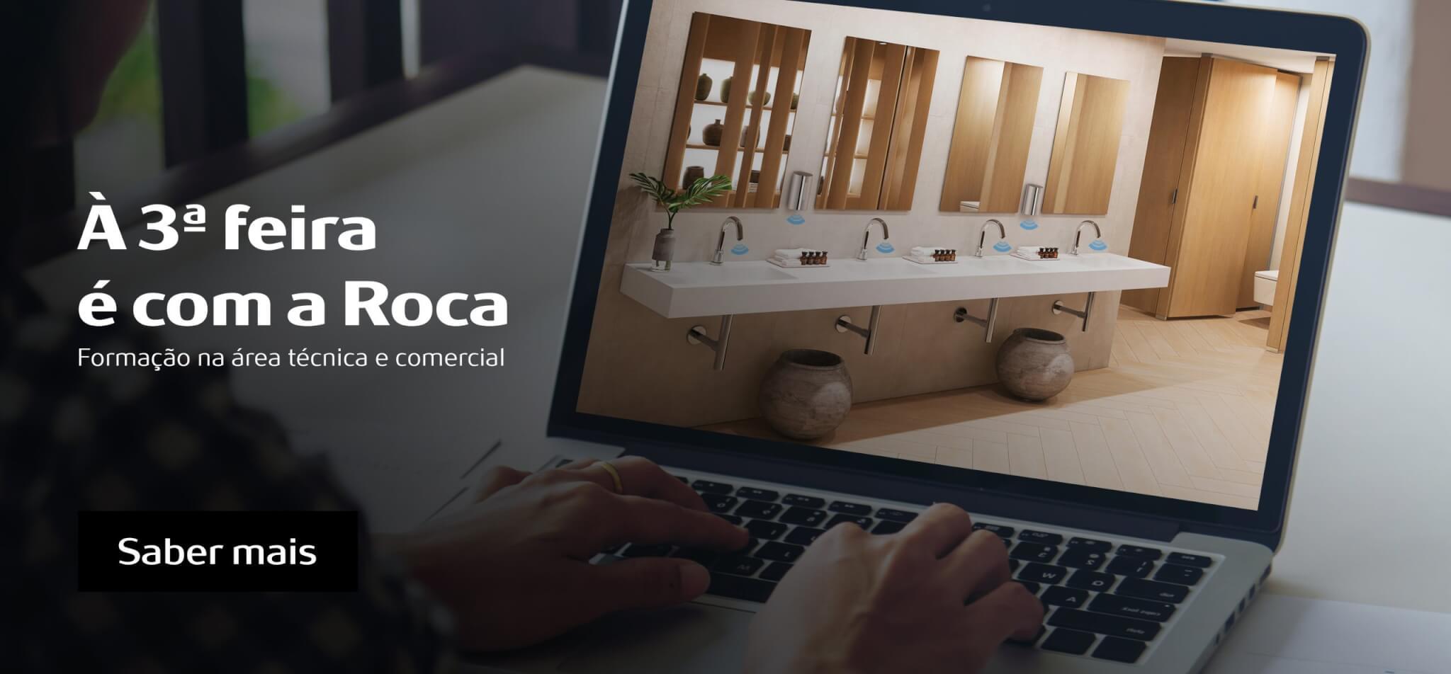 """ROCA Portugal cria sessões de formação online """"À 3ª feira é com a ROCA"""""""