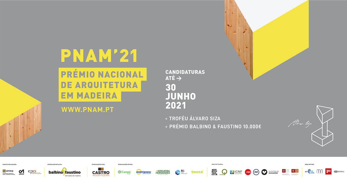 PNAM'21 – Prémio Nacional de Arquitetura em Madeira