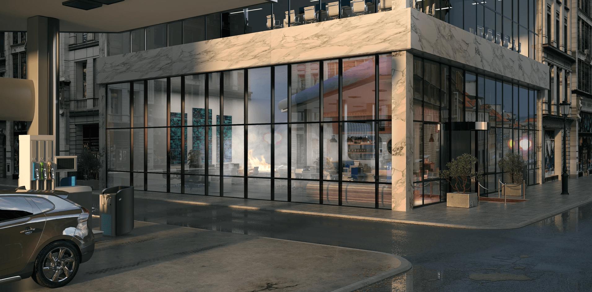 Reynaers Aluminium atualiza a variante Corta-Fogo do sistema de fachada ConceptWall 50