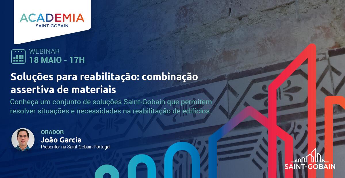 Webinar   Soluções Para Reabilitação: Combinação Assertiva De Materiais