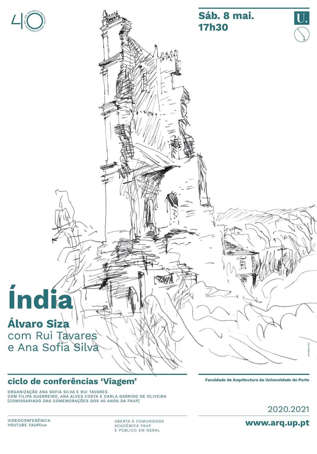 Conferência 'Viagem à Índia' com Álvaro Siza