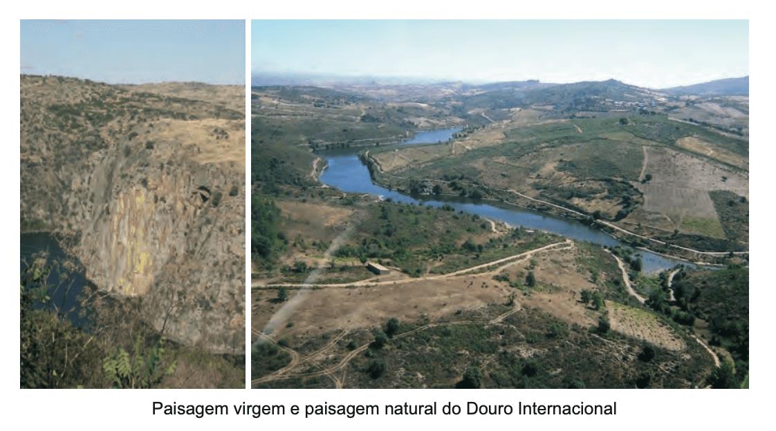 Paisagem virgem e paisagem natural do Douro Internacional