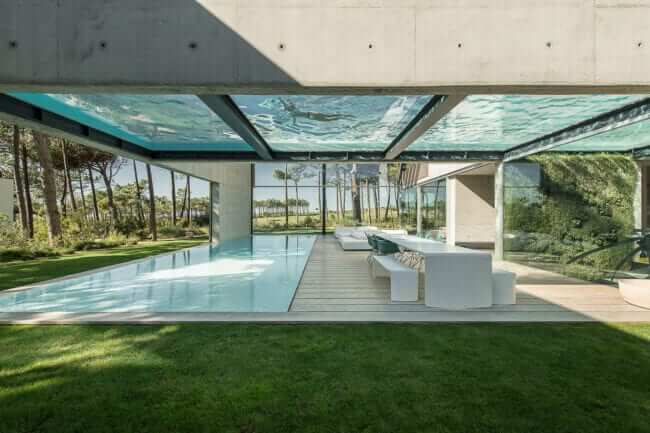 The Wall House in Portugal designed by Guedes Cruz Arquitectos . Credits Ricardo Oliveira Alves
