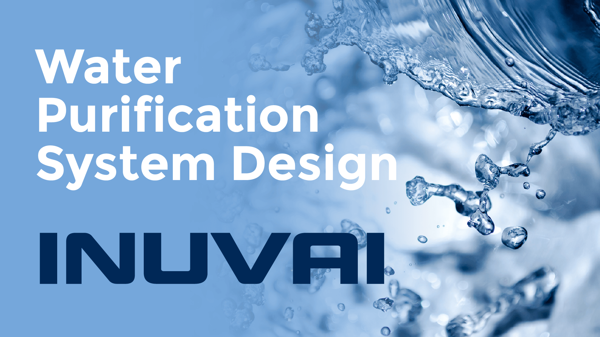 inuvai water purification system design