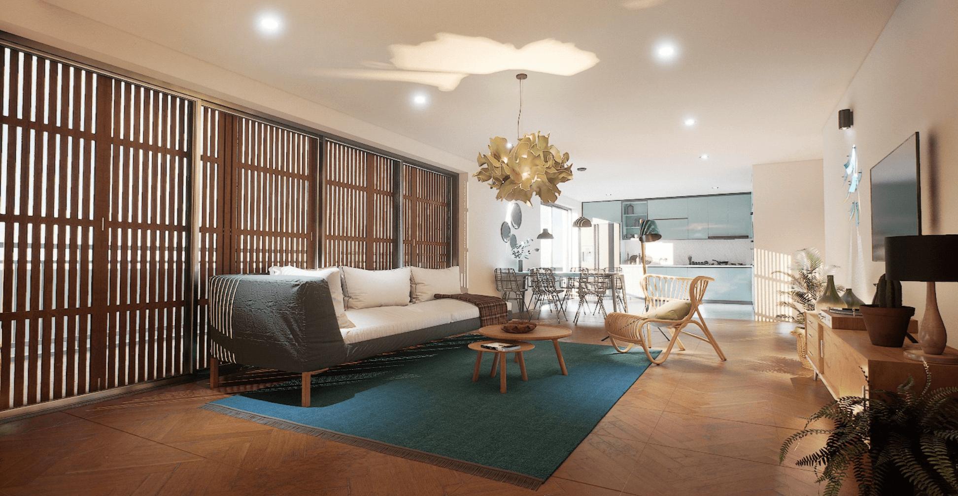 Imagem 1 - Estudo interior - ( Apartamento interactivo)