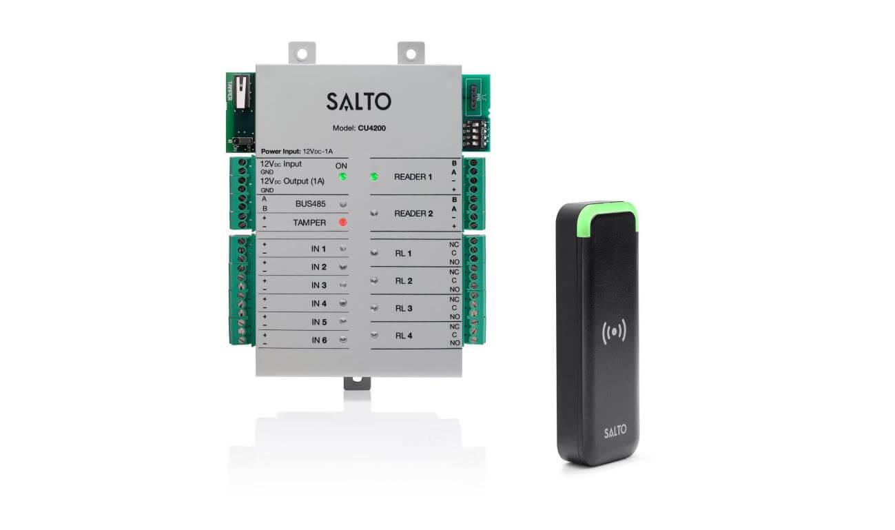 Solução de controlo de acessos online SALTO Space alcança norma EN 60839