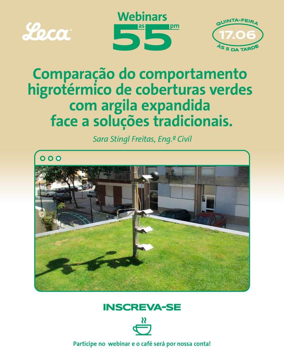 Webinars Leca®: Caso prático de uma cobertura verde no Porto