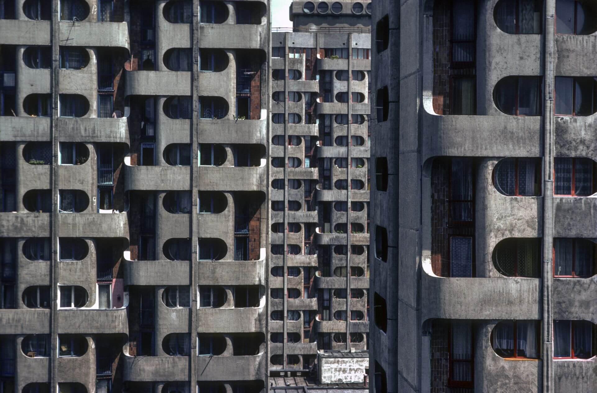 10.Zespół mieszkalny na placu Grunwaldzkim,  fot. Chris Niedenthal, 1982