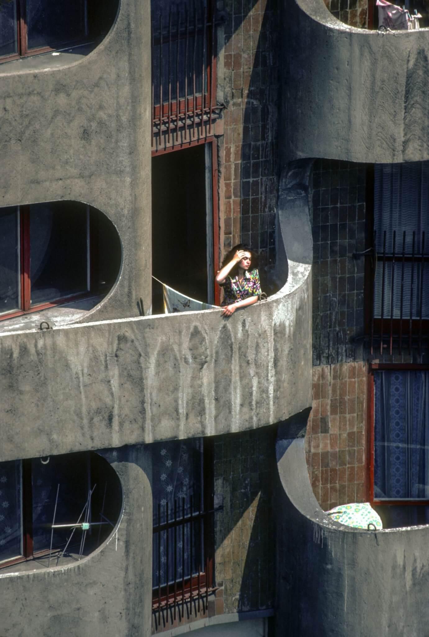 11.Zespół mieszkaniowy na placu Grunwaldzkim, fot. Chris Niedenthal, 1982