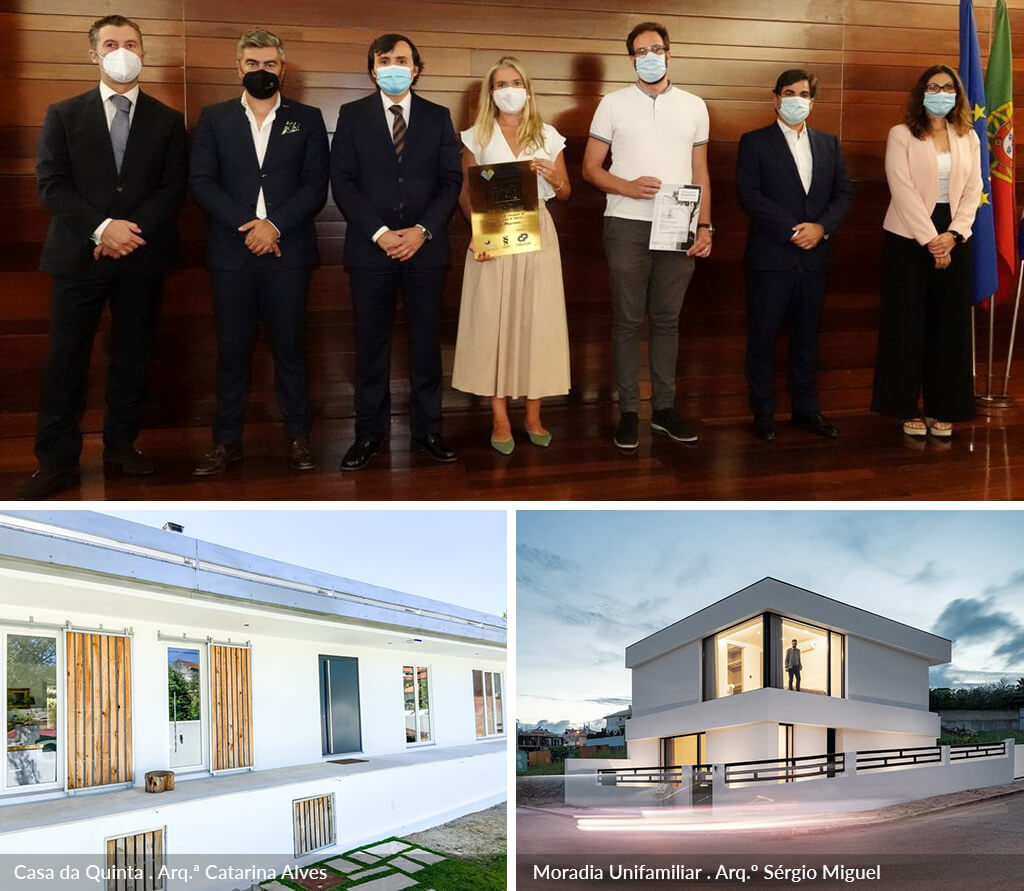 Arquitetos Catarina Alves e Sérgio Miguel Godinho distinguidos no Prémio Municipal de Arquitectura de Odivelas 2021
