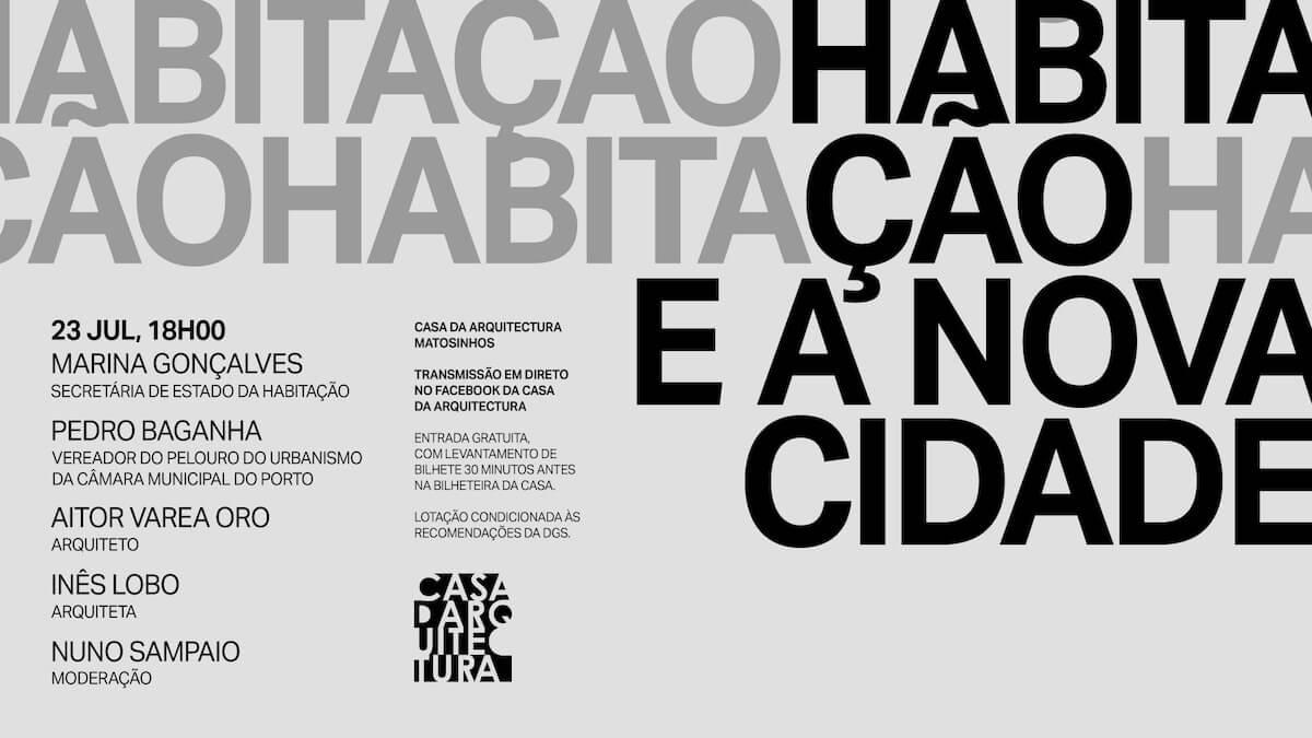"""Debate """"Habitação e a Nova Cidade"""""""