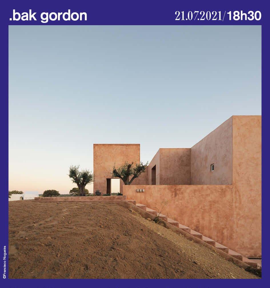 Lançamento do livro Bak Gordon Architecture